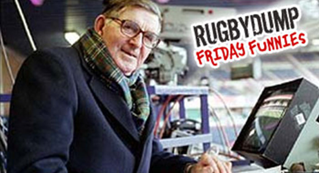 Friday Funnies - Bill Mclaren - The Voice of Rugby