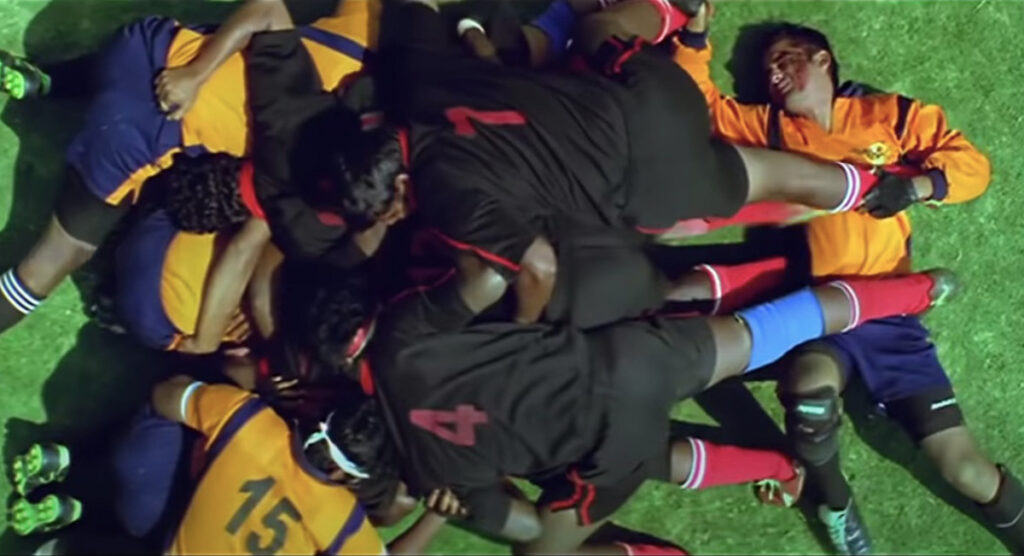 Bollywood's violently dramatic take on Rugby is out of this world