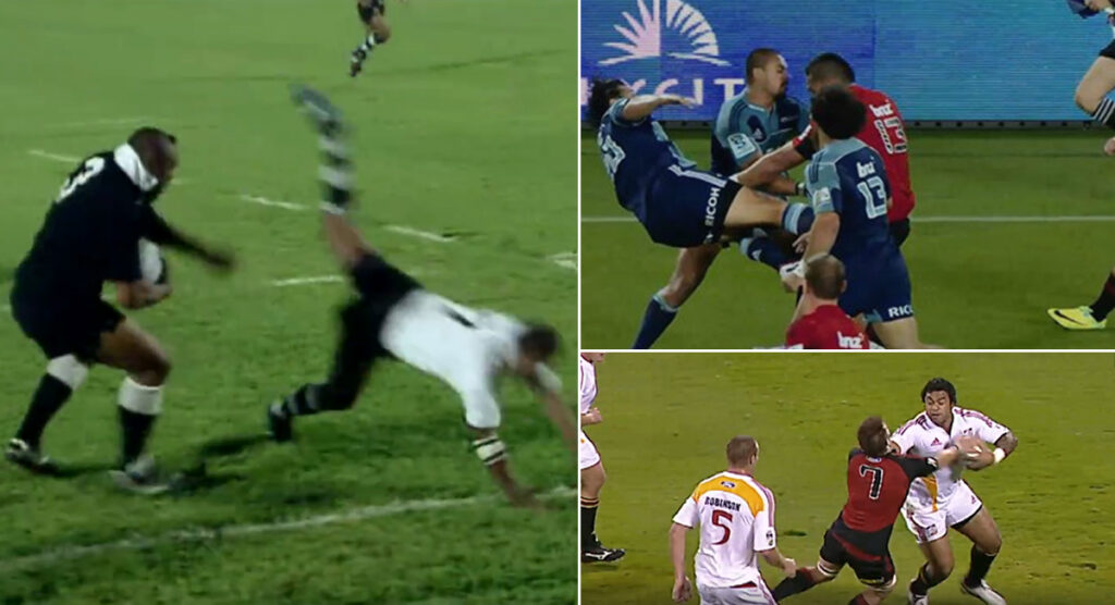The Top 8 Biggest Fends ever in New Zealand rugby