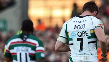 Alesana Tuilagi and Tom Wood red carded following touchline brawl