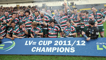Leicester Tigers beat Northampton Saints to win LV= Cup Final