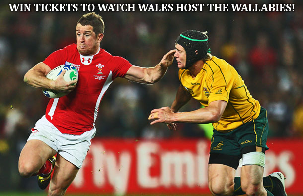 WIN tickets to the Dove Men Challenge between Wales and Australia