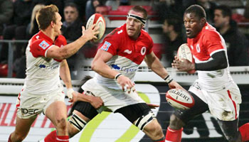 Biarritz score a sensational team try against Montpellier