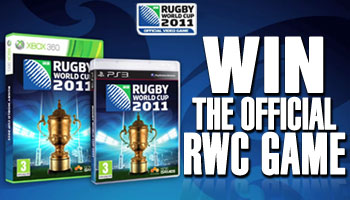 WIN a copy of the official Rugby World Cup 2011 game