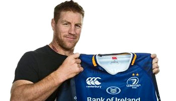 World Cup winner Brad Thorn arrives at Leinster Rugby