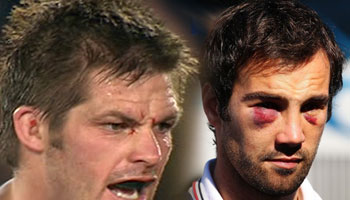 Richie McCaw knee on Morgan Parra, Donald kick, Rougerie eye-gouge, and more