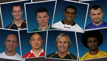 All 600 Rugby World Cup players in just over two minutes