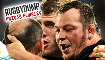 Friday Funnies - The Steve Thompson kiss of death