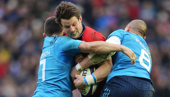 Six of the Best Hits and Tackles from Round 3 of the Six Nations