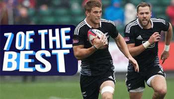 Seven of the Best Tries PLUS Highlights from the Glasgow Sevens