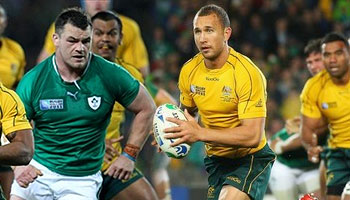 Cian Healy's hit on Quade Cooper in Auckland