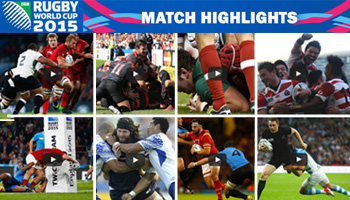 All Match Highlights from the opening round of Rugby World Cup 2015