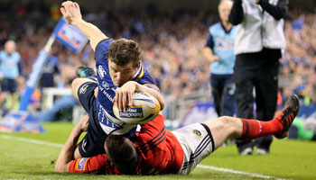 Brian O'Driscoll try in the corner sets up Leinster win over Munster