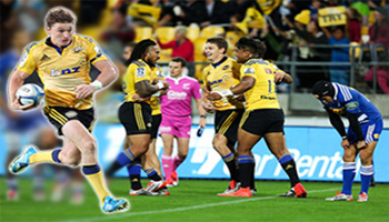 In Case You Missed It - Beauden Barrett's wonder try for the Hurricanes