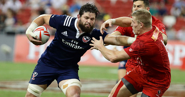 Rampaging Danny Barrett at it again but Canada take Cup Final at Singapore 7s