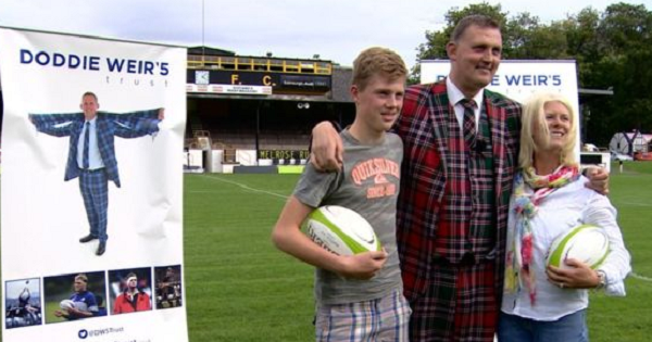 Doddie Weir speaks for the first time since MND diagnosis