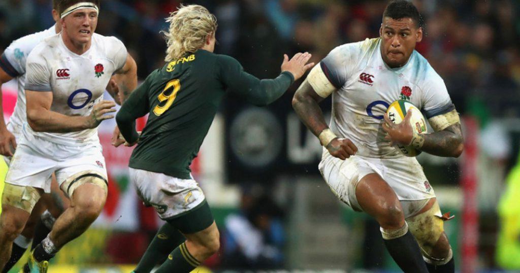 Faf de Klerk lauded for huge defence on much larger Nathan Hughes
