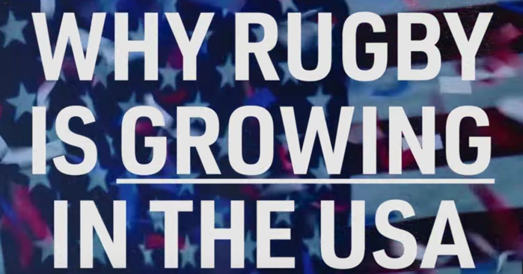 An interesting look into Rugby's recent rapid growth in the United States
