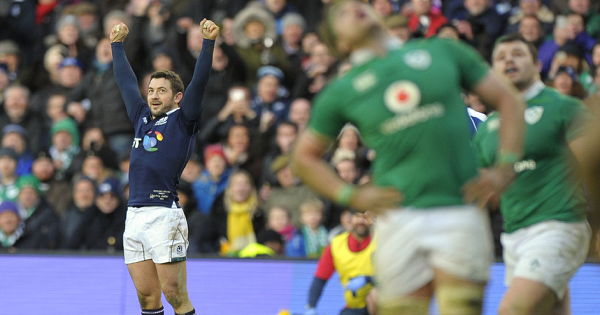 Scotland leave it late to beat Ireland in thrilling Six Nations opener