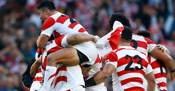 Three year countdown to RWC 2019 for giant killers Japan