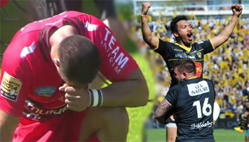 La Rochelle defeat champions Toulon 32-29 with dramatic try in the final play