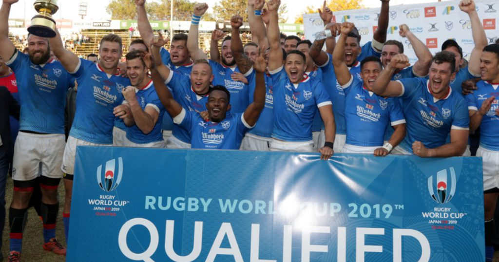 RWC 2019 Pool B all but complete as Namibia qualify with win over Kenya