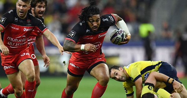 Ma'a Nonu's huge work rate and punishing charge in Top 14 final