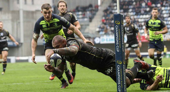 Giant Nemani Nadolo grabs hat-trick in for his new club Montpellier
