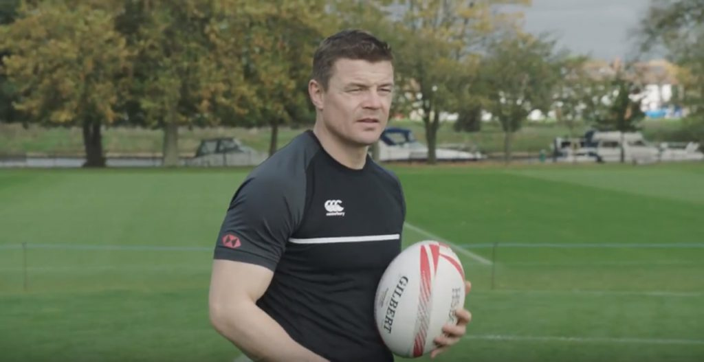 Brian O'Driscoll takes on 'Death Zone' training session with England 7s squad