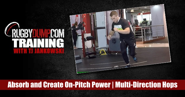 Absorb and Create On-Pitch Power with Multi-Direction Hops