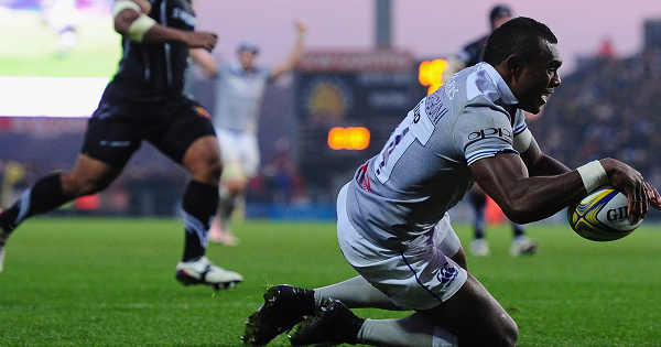 Semesa Rokodunguni last-minute try robs Exeter at the death