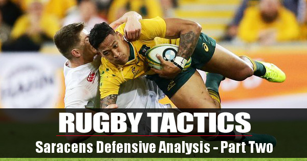 Rugby Tactics: How Saracens Wolf Pack Defence is Influencing England