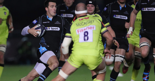 Glasgow's coast-to-coast counter that was inches from being an epic try