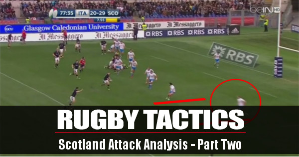 Rugby Tactics: Scotland's Attacking Play Examined - Part Two