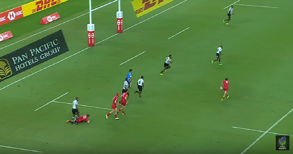 Seven best tries and highlights from Singapore Sevens 2018