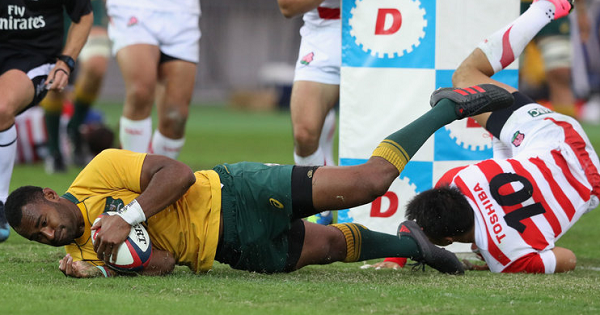 Tevita Kuridrani scores sensational try to seal Aussie win in France