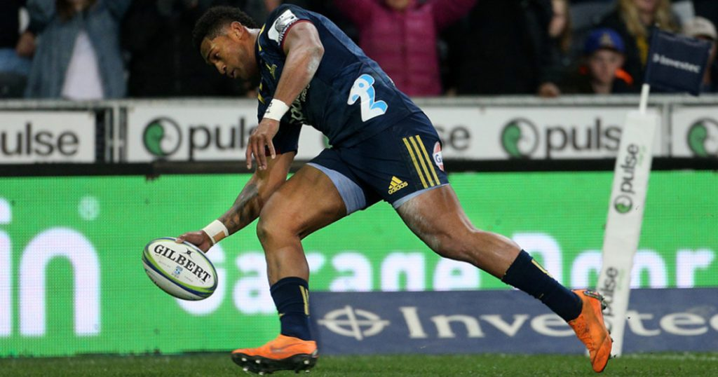 Waisake Naholo comes up with huge shot in Highlanders win over the Rebels