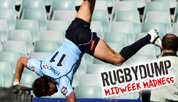 Midweek Madness - The Adam Ashley-Cooper cartwheel