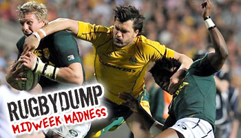 Midweek Madness - Adam Ashley-Cooper's try saving superman double tackle