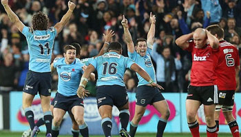 Waratahs win Super Rugby title after nail-biting thriller with the Crusaders