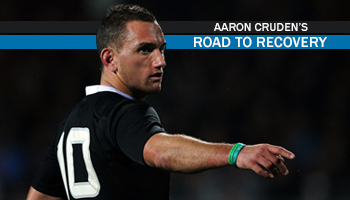 Aaron Cruden's Road to Recovery - WIN a chance to watch the All Blacks train