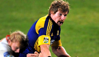 Adam Thomson starts and finishes an excellent Highlanders try