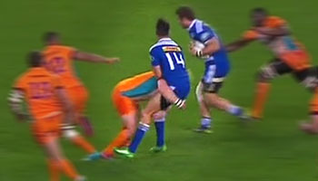 Adriaan Strauss suspended for three weeks after tip tackle