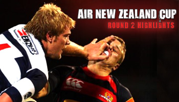Air New Zealand Cup - Round 2 Highlights