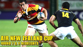 Air New Zealand Cup - Round 7 & 8 Highlights