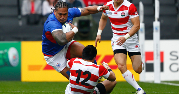 Alesana Tuilagi banned for 5 weeks for 'kneeing' Japanese tackler