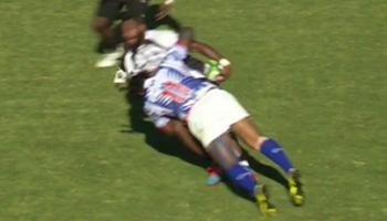 Alesana Tuilagi crunches big winger in thrilling Samoa and Fiji draw
