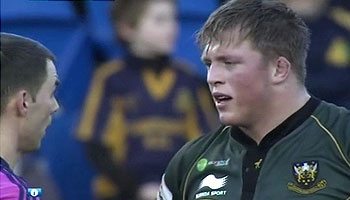 Alex Waller yellow carded for punch vs Glasgow Warriors