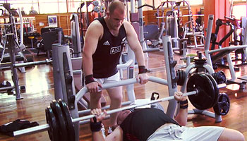 All Blacks hit the gym in Buenos Aires ahead of Argentina Test