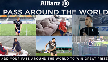 Pass Around The World with Allianz and Win Great Prizes!